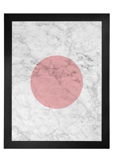Nordbagen Marble Pink Poster Siyah